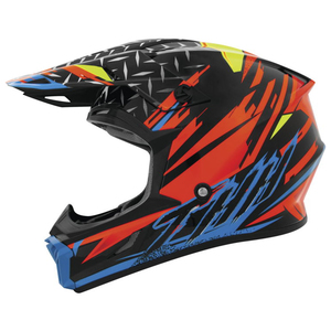 THH T710X Assault Helmet - Black/Orange