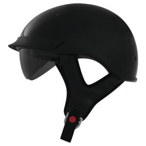 THH T-72 Half Helmet - Black