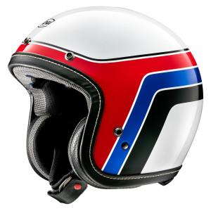 Arai Classic-V Groovy Helmet-White