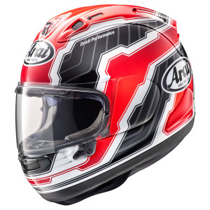 Arai Corsair X Mamola Edge Helmet-Red