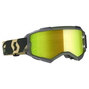 Scott Fury Camo Motorcycle Goggles