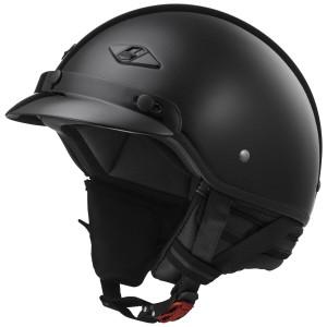 LS2 Bagger Half Helmet - Gloss Black