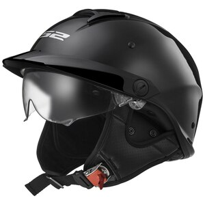 LS2 Rebellion Helmet - Black