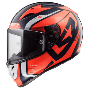LS2 Arrow Carbon Sting Helmet - Orange