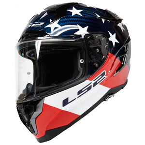 LS2 Challenger Carbon Americarbon Helmet