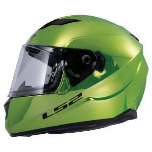 LS2 Stream Fallout Green Chrome Helmet