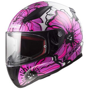 LS2 Rapid Poppies Helmet