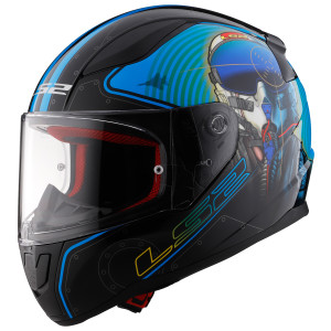 LS2 Rapid Mach II Fighter Pilot Helmet