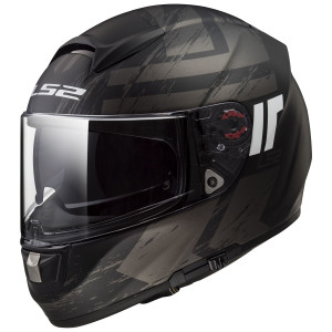 LS2 Citation Hunter Helmet - Matte Black