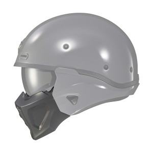 Scorpion Covert X Helmet Face Mask - Grey