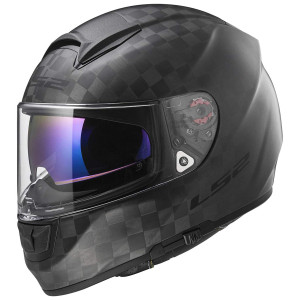 LS2 Citation Wide Weave Carbon Helmet