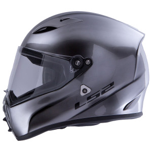 LS2 Ohm Brushed Alloy Helmet