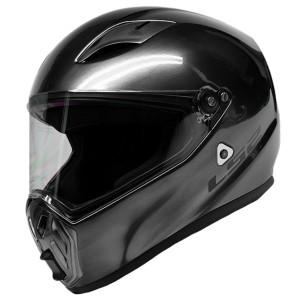 LS2 Street Fighter Brushed Alloy Helmet