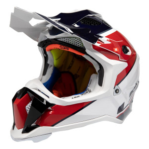 LS2 Subverter Ray Helmet - Red/White