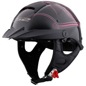 LS2 Rebellion Wheels And Wings Half Helmet