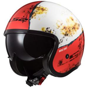 LS2 Spitfire Rust Helmet