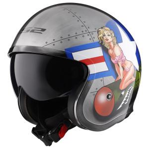 LS2 Spitfire Bomb Rider Helmet