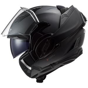 LS2 Valiant II Blackout Modular Helmet