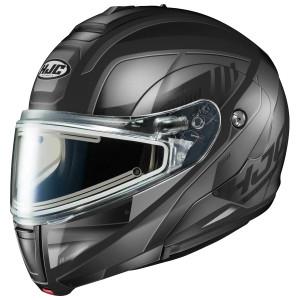 HJC CL-Max 3 Gallant Snow Modular Helmet with Electric Shield-Black/Grey