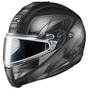 HJC CL-Max 3 Gallant Snow Modular Helmet with Dual Lens Shield Black-Grey