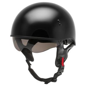 GMax HH 65 Half Helmet - Black