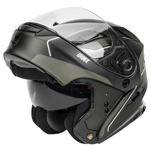 GMax MD-01 Exploit Modular Helmet - Open View
