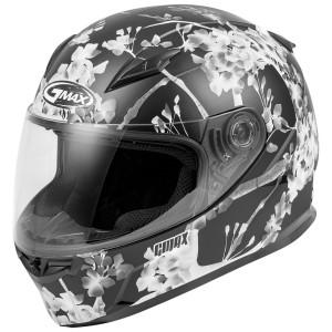 GMax FF-49 Blossom Helmet - Matte Black