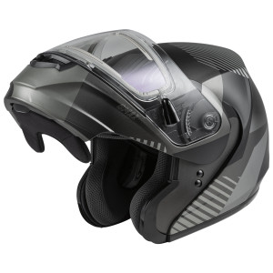 GMax MD-04S Reserve Modular Helmet With Electric Shield - Open View