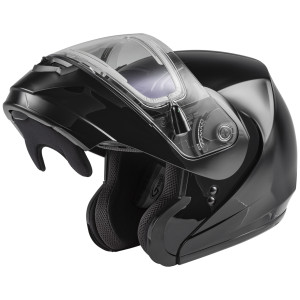 GMax MD-04S Snow Modular Helmet With Electric Shield - Open View