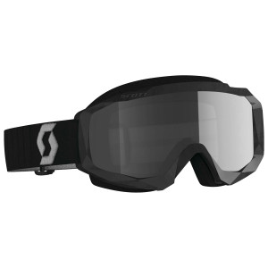Scott Hustle X Sand and Dust Motorcycle Goggles - Black/Grey