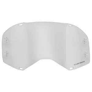 Scott Prospect Motorcycle Goggles Replacement Double Works Light Grey Lens