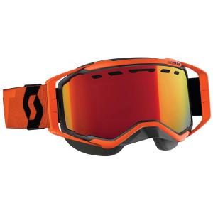Scott Prospect Snow Cross Motorcycle Goggles - Black/Orange