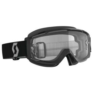 Scott Split OTG Motorcycle Goggles - Black/Grey