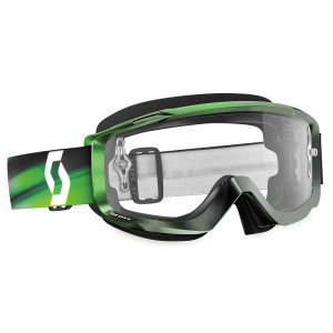 Scott Split OTG Motorcycle Goggles With Clear Lens