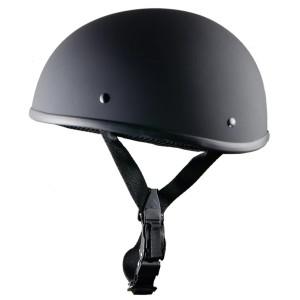 WCL Beanie Matte Black Half Helmet
