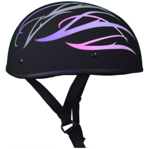 WCL Beanie Pink Half Helmet