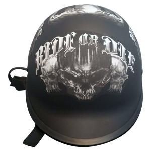 WCL Polo Skull Half Helmet