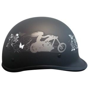 WCL Womens Polo Ladyrider Half Helmet