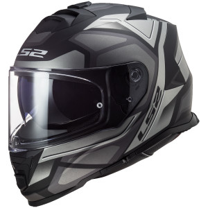 LS2 Assault Petra Helmet - Black/Grey