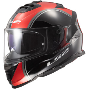 LS2 Assault Paragon Helmet - Red/Black