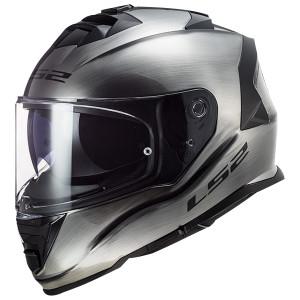 LS2 Assault Brushed Alloy Helmet