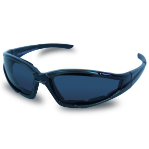 Mens SG103 Dark Smoke Biker Motorcycle Sunglasses