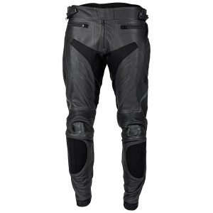 Cortech Apex V3 Leather Motorcycle Pants-Black