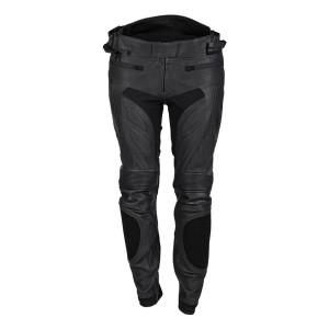 Cortech Women's Apex V1 Leather Pants-Black