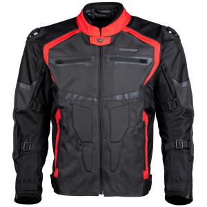 Cortech Hyper-Tec Motorcycle Jacket-Red