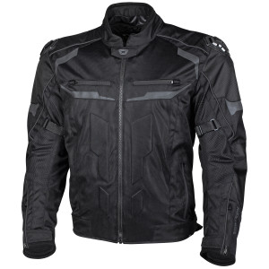 Cortech Hyper-Flo Air Motorcycle Jacket-Black