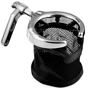 Kuryakyn Mesh Basket Drink Holder With Clutch/Brake Perch Mount