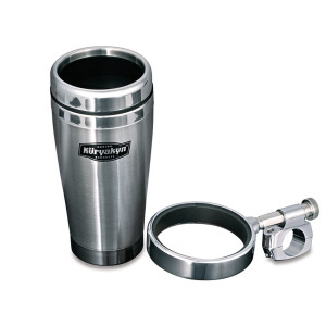 "Kuryakyn Universal Drink Holders 1"" Bars With Mug"
