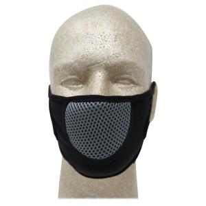 Vance VA705 CoolMax Biker Motorcycle Half Face Mask  - Grey
