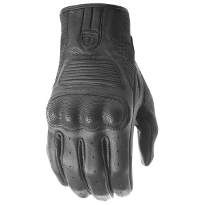 Highway 21 Haymaker Leather Motorcycle Gloves